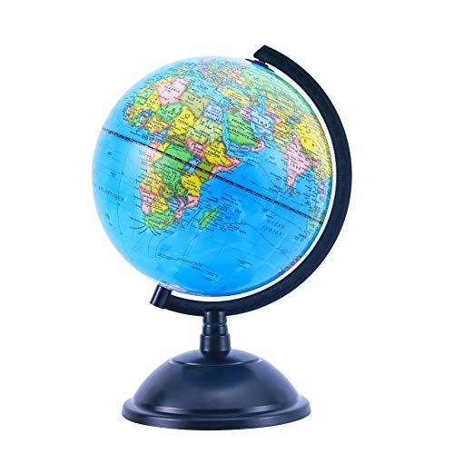 EXERZ Globe éducatif pivotant - Diamètre 20cm