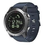 HuangThroStore Zeblaze VIBE 3 Reloj inteligente con Bluetooth, para deportes al aire libre, regalo para hombres
