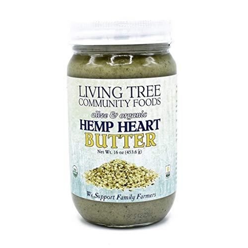 Living Tree Alive Organic Hemp Heart Butter - 16 Ounce