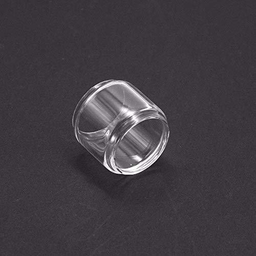 Qingtian-ceg 2 Teile/Paket Verlängern Ersatzglasrohr for Reload RTA Zerstäuber Tank Ersatzglas,Frei von Tabak und Nikotin