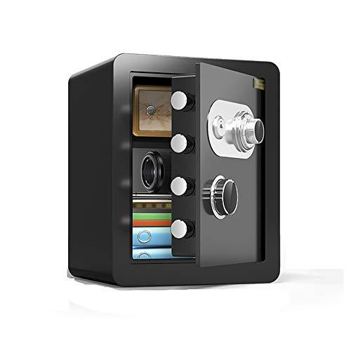 Sicherheit Safe Tresore, Stahl Mechanische Diebstahlsicherung Passwortschlüssel Doppelschutz Passwort Box for Familienhotel Supermarkt Lagerung Bargeld Schmuck Wertsachen Sicherheitswerkbank