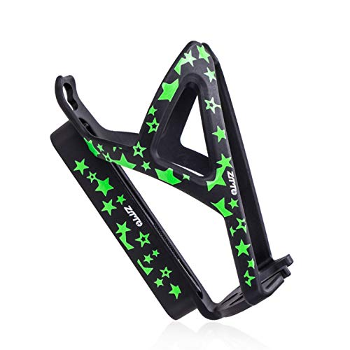 Shenrongtong Ultra-Light Full Carbon Fiber Bicycle Bike Drink Water Bottle Cage Holder,Quick and Easy To Mount Anti Rust Bottle Cage Holder For Road Bike MTB Cycling