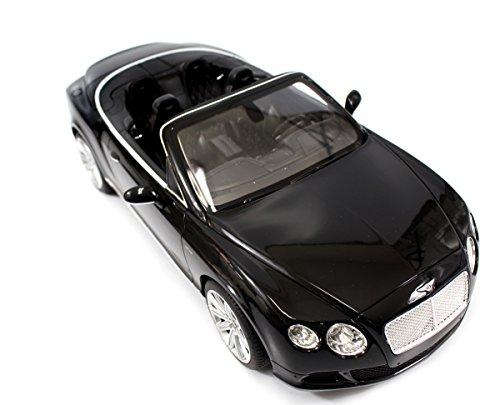 PowerTRC 1:12 Rastar Bentley Continental GT Speed Convertible Black