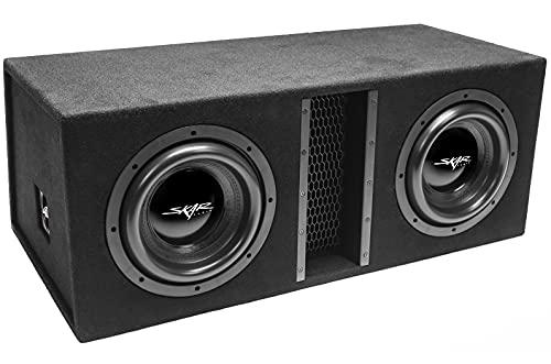 "Skar Audio Dual 10"" 4000W Loaded EVL Series Vented Subwoofer Enclosure | EVL-2X10D4"