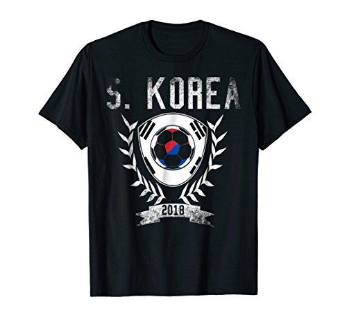 Korean Football Cup 2018 T-Shirt - South Korea Soccer Jersey