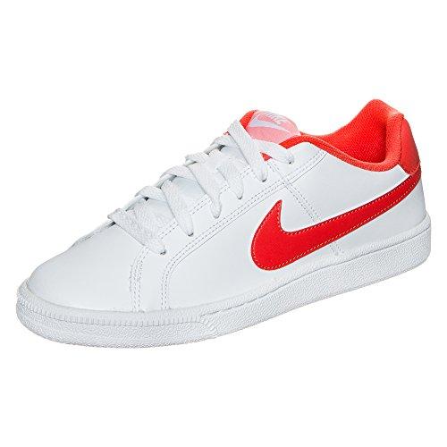 Nike COURT Royale Zapatillas de deporte para mujer, weiß / hellrot