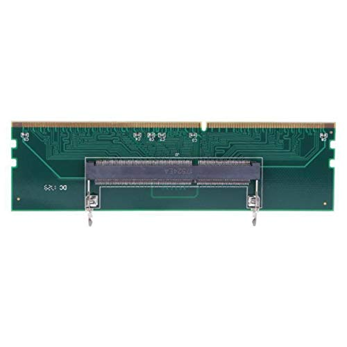 Rouku DDR3 Memoria para computadora portátil a computadora de Escritorio Conector Adaptador de Tarjeta 240 a 204P Adaptador de Memoria SO-DIMM a DIMM Accesorio de computadora