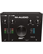 M-Audio USB/USB-C対応 2イン/2アウト オーディオインターフェース/MIDIインターフェイス:ProTools First/Ableton Live Lite/Eleven Lite/Avid Effects Collection/AIR Music Tech製エフェクト&ソフト音源付属 AIR 192 6