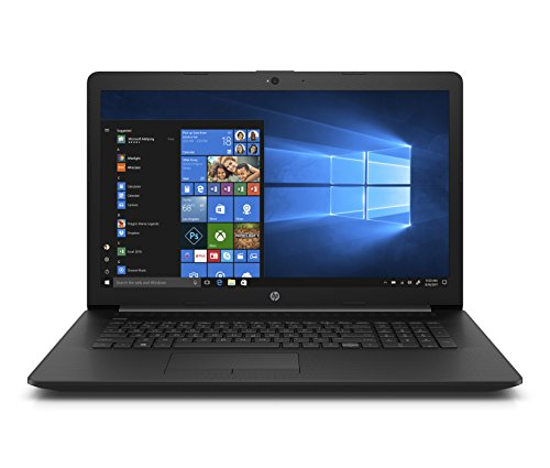 HP 17-ca0039nf PC Portable 17,3'' HD Noir (AMD A6-9225, 4 Go de RAM, 500 Go de Stockage, AZERTY, Windows 10)