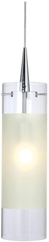 Pendelleuchte Colmena, 220-240V AC 50-60Hz, E27, 60W, Glas klar gefrostet