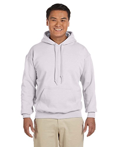 Gildan 18500 - Classic Fit Adult Hooded Sweatshirt Heavy Blend - First Quality - Ash Grey - Small