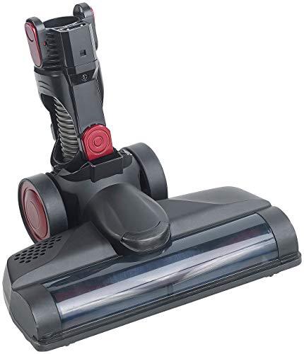 Sichler Haushaltsgeräte Zubehör zu Akku Staubsauger Bürste: Rotierende Ersatzbürste für Zyklon-Staubsauger BHS-500.ak, mit LED (2in1-Akku-Zyklon-Staubsauger)