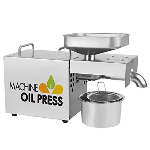 Prensa de Aceite Electrónica, Doméstica frío y caliente extractor Prensa de aceite...
