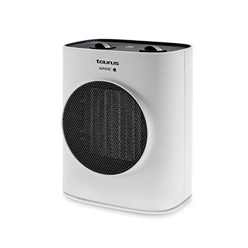 Taurus Alpatec – Tropicano 7CR. Calefactor oscilante con tecnología cerámica PTC System. 1500W. Termostato. 2 intensidades. Silencioso. Antivuelco. Protector térmico.