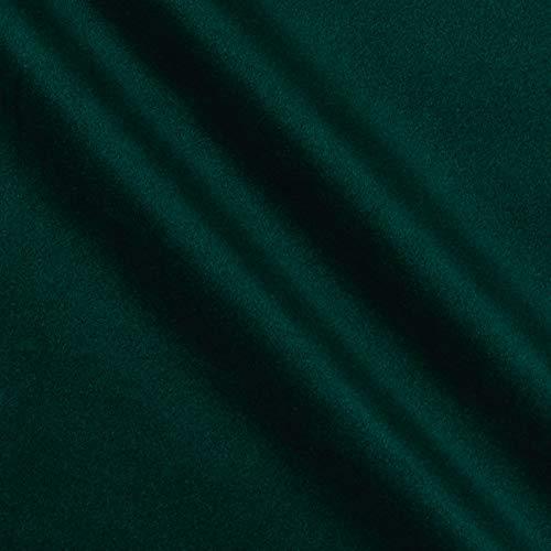 Alpine Upholstery Velvet Hunter Green, Fabric by the Yard