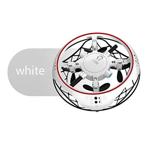 ETbotu boy girl toys,Gifts for girls - Small Intelligent Induction Four-axis Aircraft Resistant to Mill Suspension Aircraft UFO Mini Drone Toy white