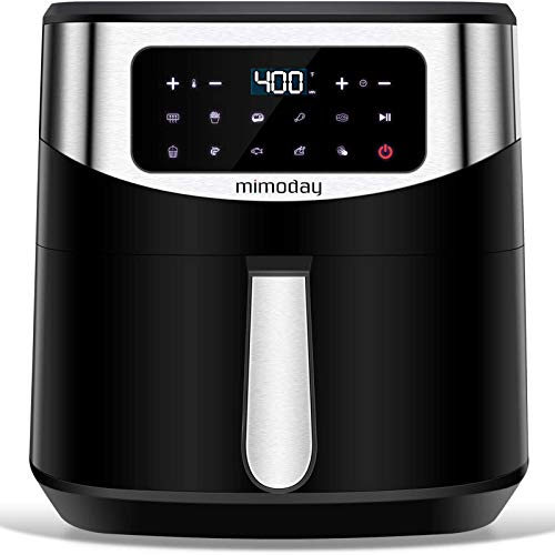 10 Menus Air Fryer 8 Quart with Preheat, Adjustable Temp &Time, 10 in 1 Air Fryer Machines XL, 160...