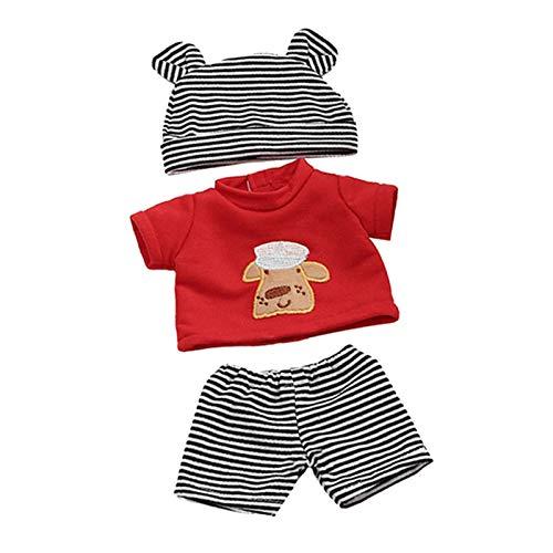 freneci Ropa de Muñeca Hecha a Mano Disfraces Pijamas para Ropa de Muñecas de 30 Cm - Estilo5