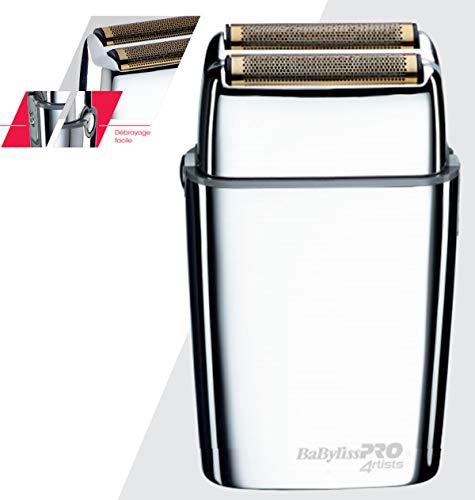 FOILFX02 Metal Double FOIL Shaver, schwarz, Standard