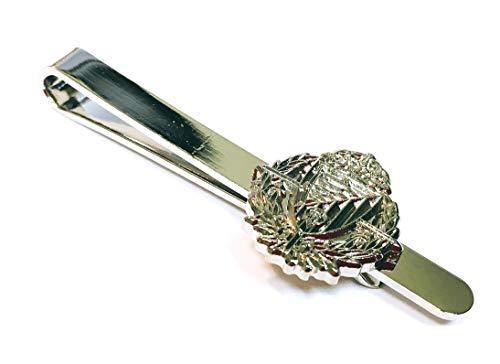 Gemelolandia Pasador de Corbata Real Valladolid Plateado | Pisa Corbatas Para usar en Bodas y en Eventos formales | Da un toque Elegante | Complementos de Moda Para Hombres