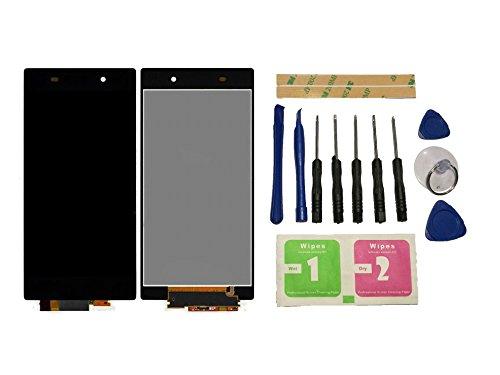 Flügel para Sony Xperia Z1 L39h C6902 C6903 C6906 C6943 Pantalla LCD pantalla Negro Táctil digitalizador Asamblea Pantalla ( sin marco ) de Recambio & Herramientas