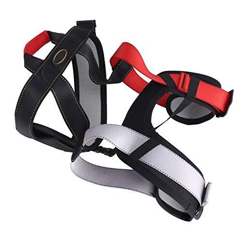 FOLOSAFENAR Cintura de caída Cadera Cinturón de Seguridad de Gran altitud Arnés de Medio Cuerpo Arnés de Escalada de Medio Cuerpo con Fuerte Resistencia al Desgaste para Escalar