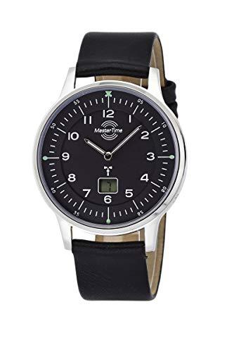 Master Time Funk Quarz Herren Uhr Analog-Digital mit Leder Armband MTGS-10658-71L