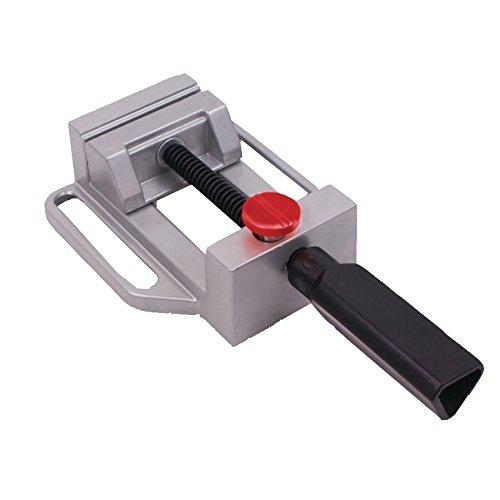 Connex Maschinenschraubstock | 100 mm | Schraubstock | Bohrständer | Klemme | Werkbank | Werkstatt | COM870100