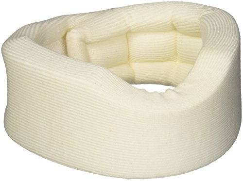 """Rolyan Universal Contour Cervical Collar Brace, Cream Color, 2"""",66280"""