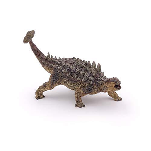 Papo 55015 Ankylosaurus DIE Dinosaurier Figur, Mehrfarben