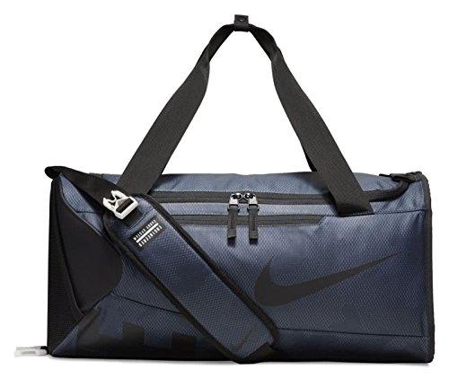 Nike Men's Alpha (Small) Training Duffel Bag, Color Thunder Blue/Black/Black, Talla MISC