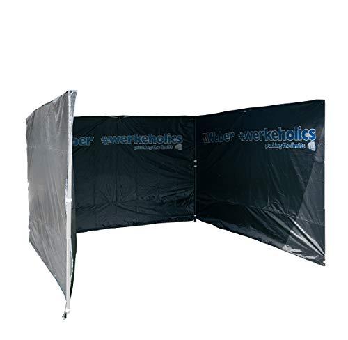 Weber GmbH Seitenwände für Easy-Up Zelt 3 x 3 m (Set 3 Stück)