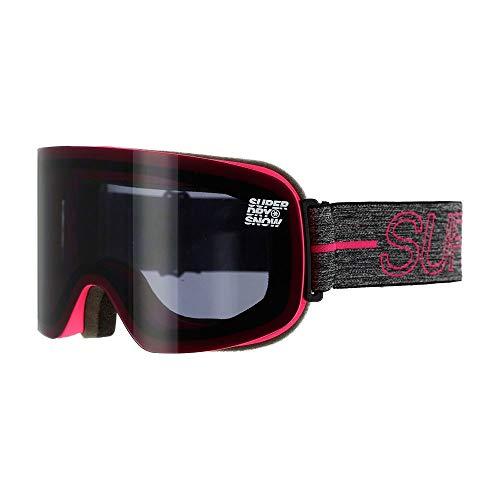 Superdry SLALOM GOGGLE - Gafas de nieve para mujer, color rosa flúor, talla única