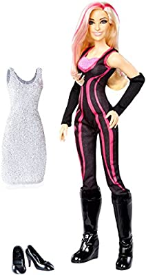 WWE Superstars Natalya Fashion Doll Action Figure