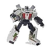 Transformers Generations War for Cybertron: Kingdom Deluxe WFC-K24 Wheeljack-Figura de acción (14 cm, a Partir de 8 años) (Hasbro F0678)