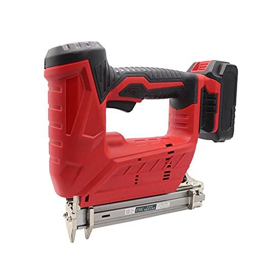 Pistolas de uñas eléctricas inalámbricas, 3000mA F30C 30mm Nailer Grapadora Herramientas para muebles Marco Carpintería Madera Trabajo
