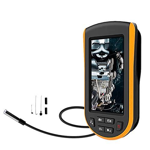 Endoscopio Industrial, Pantalla LCD De 4.3 Pulgadas, con Endoscopio De Campo Amplio De 5.2 Mm, Tubo Flexible 1M para Inspección De Motores De Automóviles