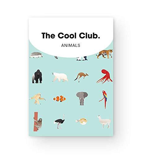 動物園や水族館でお馴染みの動物たちが描かれたキュートなトランプです。子供っぽくない色使いとイラストは、おしゃれでセンスを感じさせます。