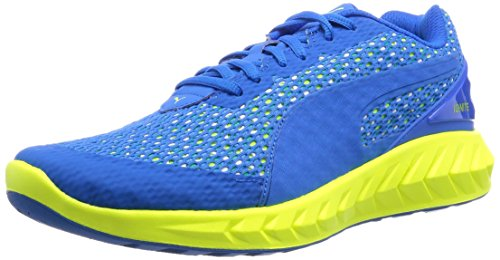 Puma Herren Ignite Ultimate Layered Laufschuhe, Blau (Electric Blue Lemonade-Puma White-Safety Yellow 03), 43 EU