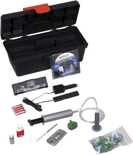 KS Tools 160.0244 Windschutzscheibe Reparatursatz Ohne Bohrer oder UV Lampe