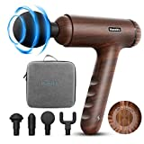 Percussion Massage Gun for Athletes, Deep Tissue Percussion Muscle Massager Handheld Portable Electric Shoulder Neck Back Massager for Gym Office Home Post, Relieve Workout Muscle Soreness Stiffness