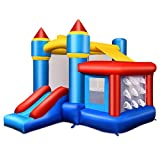 Best Bounce Houses - Costzon Inflatable Bounce House, Kids Slide Jumping Bouncer Review