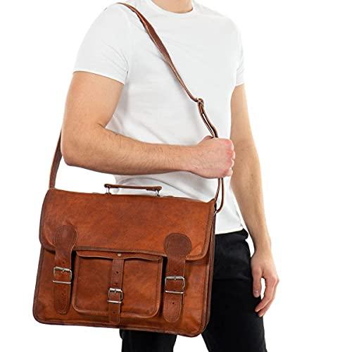 Gusti cartella portadocumenti in pelle - Leon borsa porta pc borsa tracolla borsa lavoro uomo borsa lavoro donna porta computer portadocumenti donna