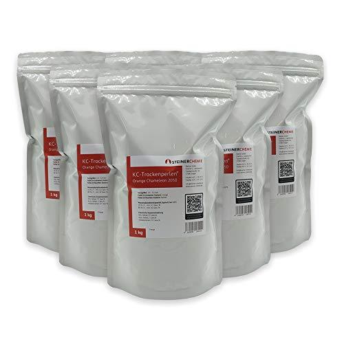 KC-Trockenperlen® Orange Chameleon®, 6 x 1 kg Beutel (regenerierbar)