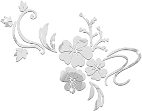 Yililay 1 x 3D-muursticker, bloemen-acryl-sticker, wandspiegel, bloemenmuurkunst voor kinderkamer, goede prijs-kwaliteitve...