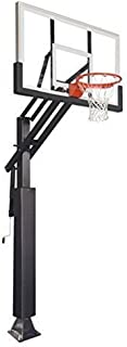 First Team Game Changer in-Ground Adjustable Basketball Goal Hoop with 60