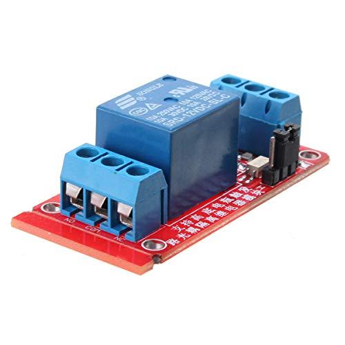 KEMEILIAN Weit verbreitet 5 stücke 1-Kanal 12V-Tier-Trigger-Optokoppler-Relay-Modul für Arduino - Produkte, die mit verschriebenen Arduino-Boards Arbeiten Dauerhaft
