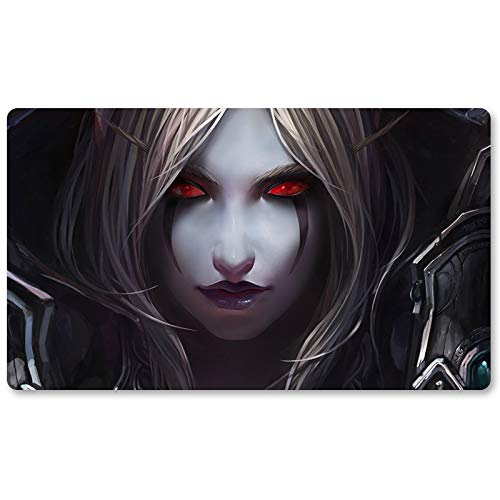 Warcraft53 – Juego de mesa de Warcraft tapete de mesa Wow juegos teclado Pad Tamaño 60 x 35 cm World of Warcraft Mousepad para Yugioh Pokemon MTG o TCG