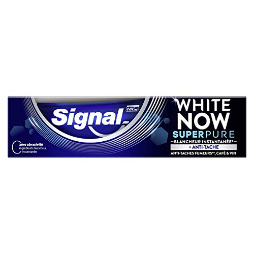 Signal White Now Dentifrice Blancheur Super Pure,...