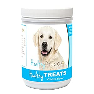 Healthy Soft Chewy Dog Treats for Golden Retriever – Over 80 Breeds – Tasty Flavored Snack – Small Medium or Large Pets – Training Reward – 7oz